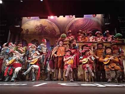 Foto del coro Opera Cádiz